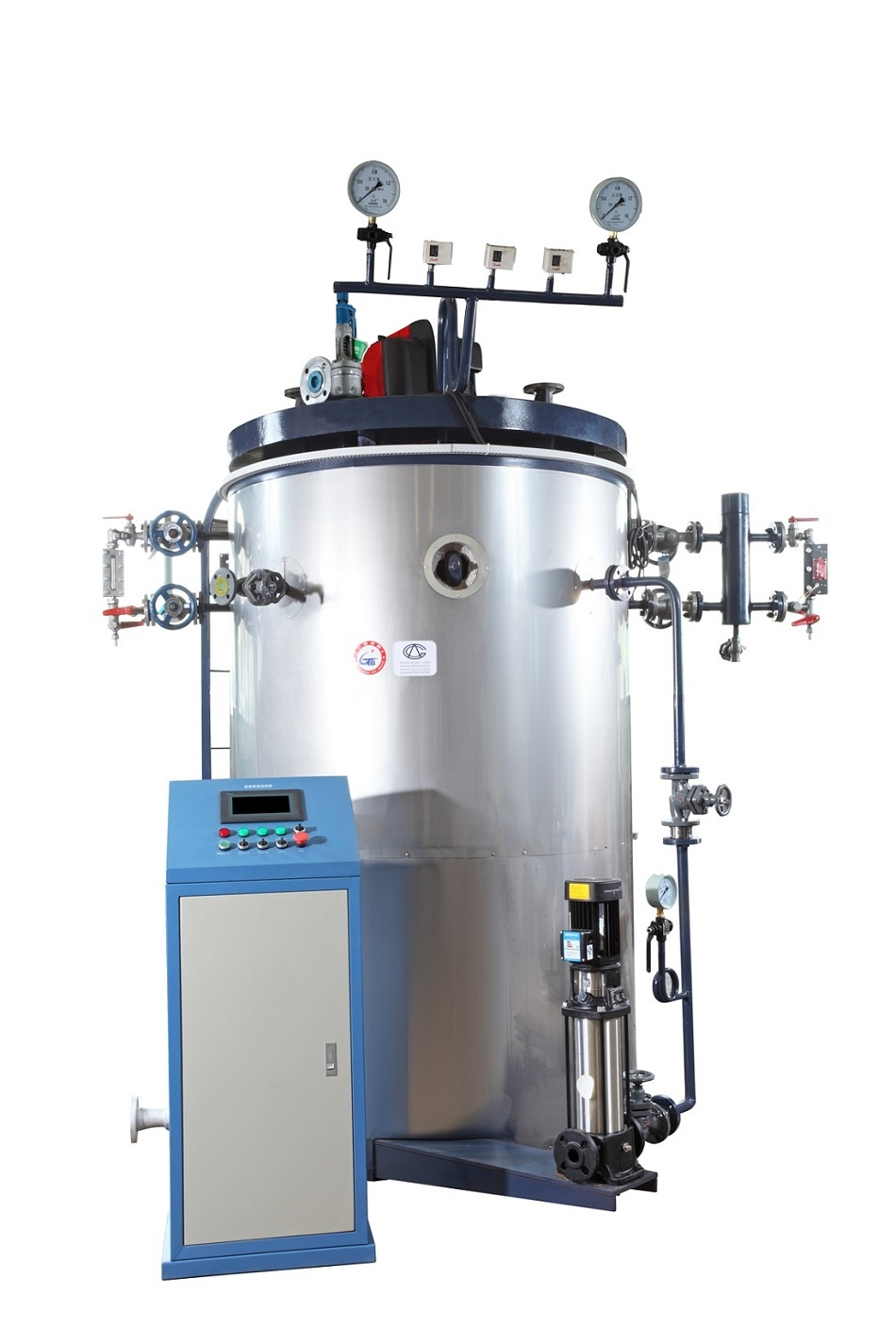 vertical water tube steam boiler-1