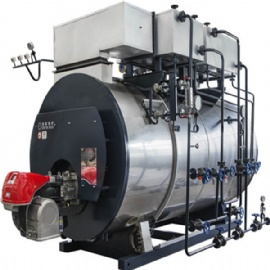 Gas/Oil condensing steam boiler